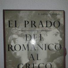Arte: EL PRADO DEL ROMÁNICO AL GRECO. AGUILAR. Lote 102928326