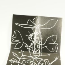 Arte: SAURA, GALERIA RENE METRAS, 1969, BARCELONA. 15,5X22,5CM. Lote 103921151