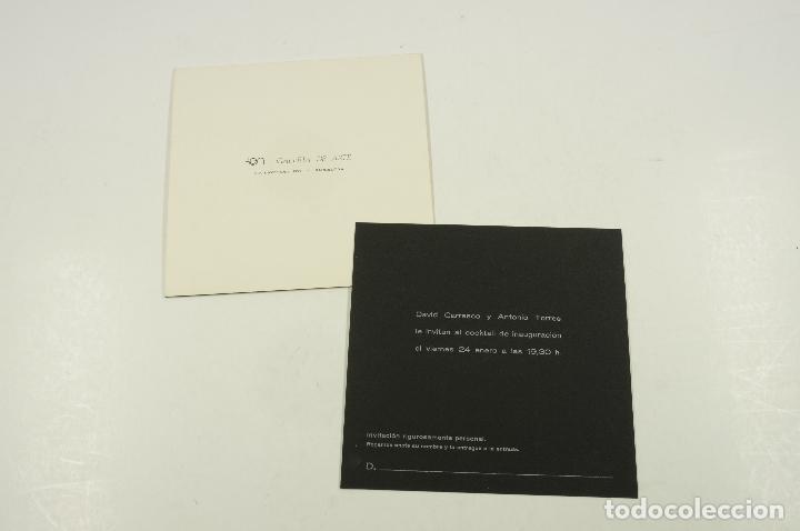 Arte: planell, dibujos lunares, galeria de arte via layetana, barcelona. 15,5x16cm - Foto 2 - 103922371