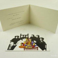 Arte: BAROC DESIGN STUDIO, EXHIBITION ROY SHIFRIN AND PENELOPE BENNETT, 1970-1971. 16X11CM. Lote 104024819