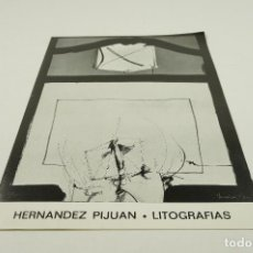Arte: HERNANDEZ PIJUAN, LITOGRAFIAS, EDITORIAL GUSTAVO GILI, BARCELONA. 21X30CM. Lote 104027495