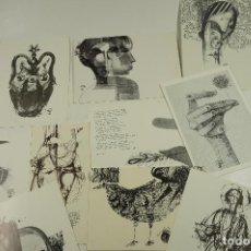 Arte: FELICITACIONES DE NAVIDAD AÑOS 70 DE JORDI ALUMÀ.. Lote 106185879