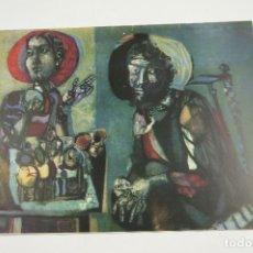 Arte: ANTONI CLAVÉ, EL PINTOR Y SU OBRA, SALA GASPAR, 1956, BARCELONA. 23X30CM. Lote 106187575