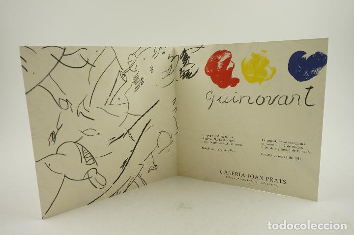 GUINOVART, GALERIA JOAN PRATS, 1981, BARCELONA. 20X20CM (Arte - Catálogos)