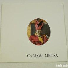 Arte: CARLOS MENSA, SALA PELAIRES, 1980, PALMA DE MALLORCA. 22X21CM. Lote 106705431