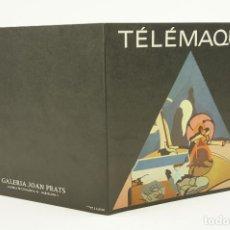 Arte: HERVÉ TÉLÉMAQUE, GALERIA JOAN PRATS, 1977, BARCELONA. 20X20CM. Lote 106706095