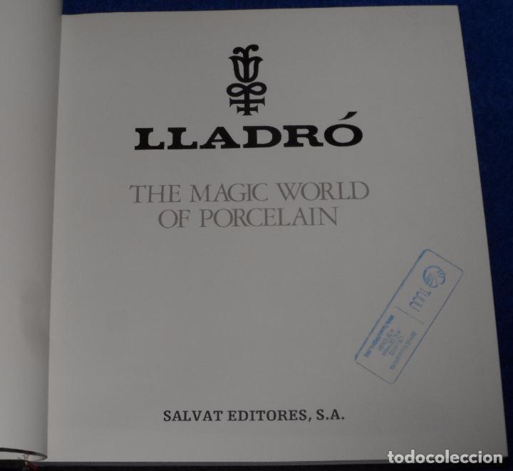 Arte: Lladró - The Magic World of Porcelan - Salvat Editores - Foto 3 - 107622527