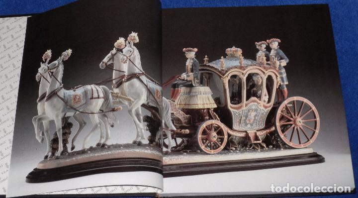 Arte: Lladró - The Magic World of Porcelan - Salvat Editores - Foto 4 - 107622527