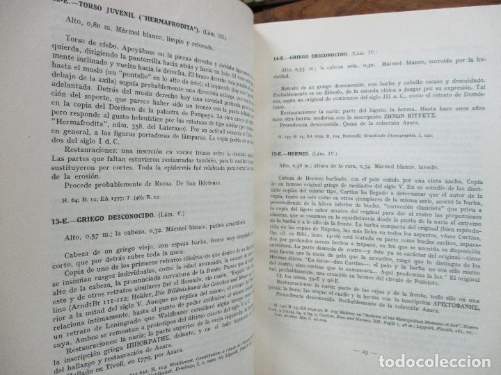 Arte: CATÁLOGO DE LA ESCULTURA. A. BLANCO. ED. MUSEO DEL PRADO. 1957. - Foto 3 - 108237719