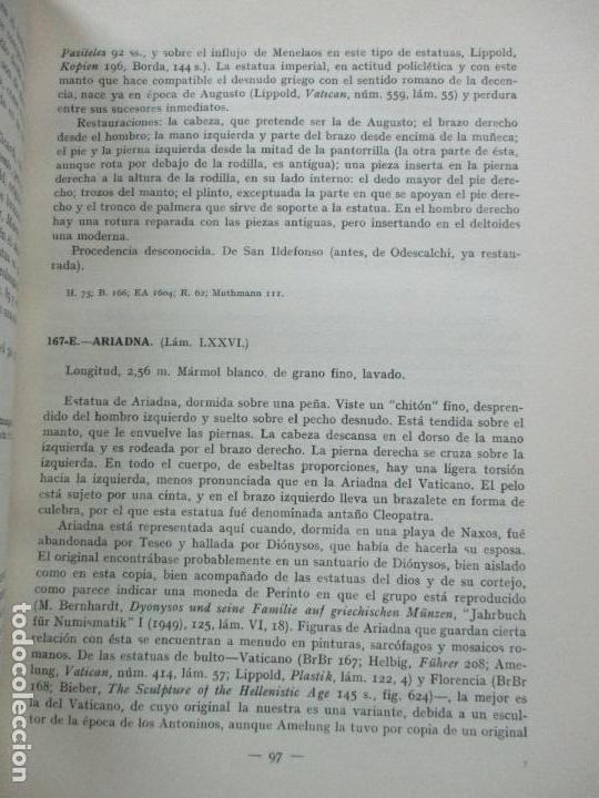 Arte: CATÁLOGO DE LA ESCULTURA. A. BLANCO. ED. MUSEO DEL PRADO. 1957. - Foto 4 - 108237719