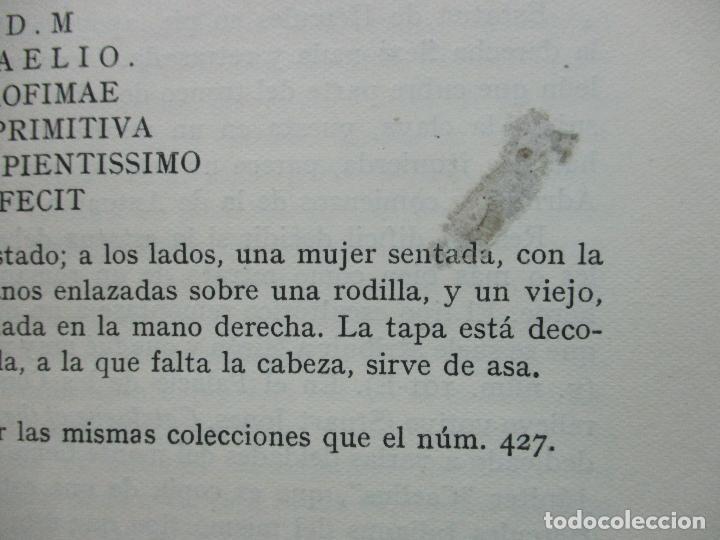 Arte: CATÁLOGO DE LA ESCULTURA. A. BLANCO. ED. MUSEO DEL PRADO. 1957. - Foto 6 - 108237719