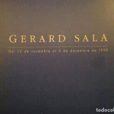 Arte: GERARD SALA. SALA PARÉS. BARCELONA. 1990. Lote 109180803