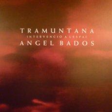 Arte: ÁNGEL BADOS. TRAMUNTANA. INTERVENCIÓ A L'ESPAI. SALA MONTCADA. 1988. Lote 109213643