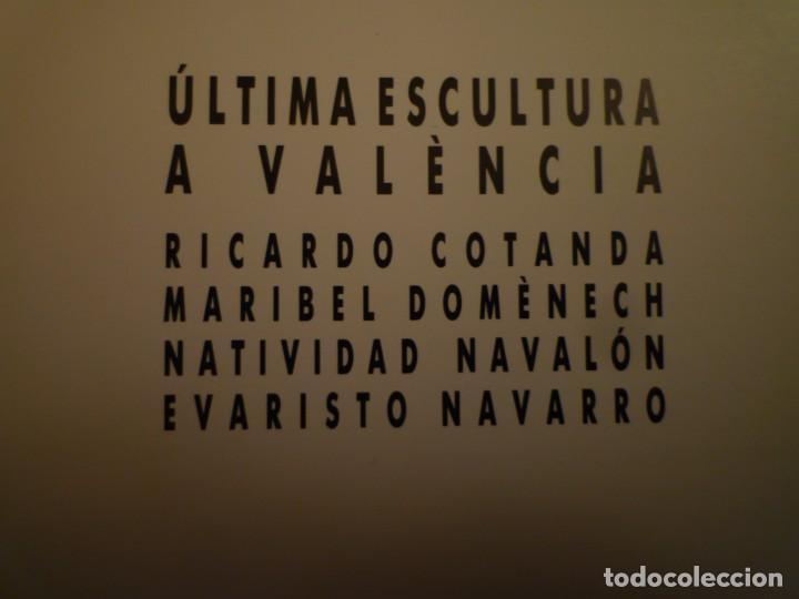 Arte: ÚLTIMA ESCULTURA A VALÈNCIA. FUNDACIÓ CAIXA PENSIONS. SALA MONTCADA. 1988. - Foto 3 - 109213871