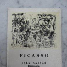 Arte: PICASSO SALA GASPAR 1986. Lote 109230311