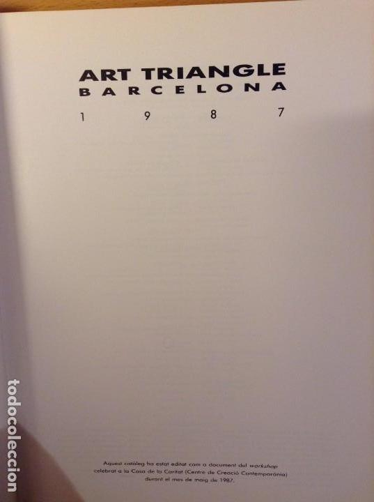 Arte: ART TRIANGLE BARCELONA 1987 (AJUNTAMENT DE BARCELONA) - Foto 3 - 109413031