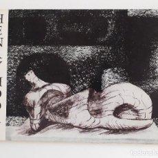 Arte: CATÁLOGO EXPOSICIÓN HENRY MOORE ESCULTURAS GALERIE PATRICK CRAMER GENÈVE 1978. Lote 109446463