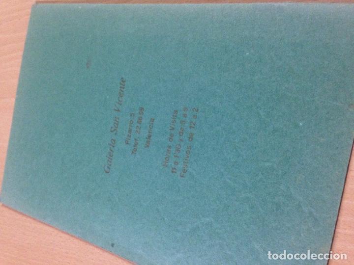 Arte: CATALOGO HERMANN KONIG GALERIA SAN VICENTE VALENCIA 1975 - Foto 4 - 109482831
