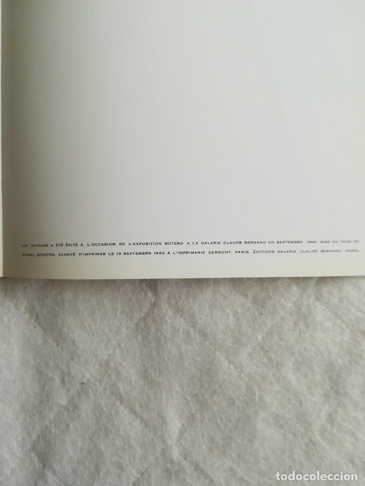 Arte: Botero, Textes d´Arrabal, en francés, 1969. - Foto 12 - 109645687