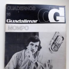 Arte: CUADERNOS GUADALIMAR Nº 16 MOMPO. Lote 109809687