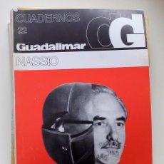 Arte: CUADERNOS GUADALIMAR Nº 22 NASSIO. Lote 109811407