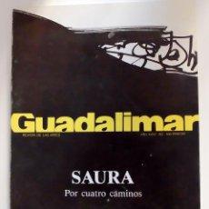 Arte: GUADALIMAR Nº 103 OCT-NOV 1989 SAURA, POR CUATRO CAMINOS. Lote 110206951