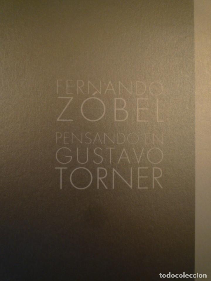 GUSTAVO TORNER. FERNANDO ZÓBEL. ESPACIO TORNER. CUENCA. (Arte - Catálogos)