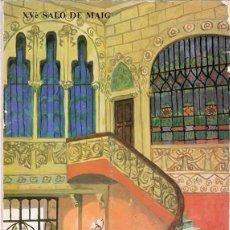Arte: XV É SALÓ DE MAIG CATÁLOGO NUMERADO Nº 546 . Lote 111265111