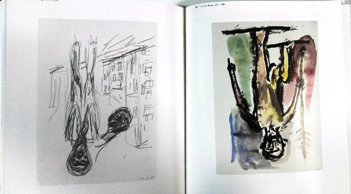 Arte: Georg Baselitz, Zeichnungen und druckgraphische werke, Kunstmuseum Basel, 1991 - Foto 3 - 111805619