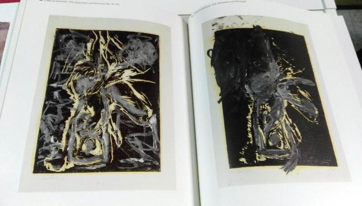 Arte: Georg Baselitz, Zeichnungen und druckgraphische werke, Kunstmuseum Basel, 1991 - Foto 4 - 111805619