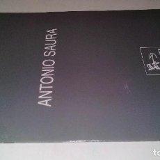 Arte: ANTONIO SAURA-CATALOGO EXPOSICIÓN-GALERIA DE ARTE VICENT 1998. Lote 111829371