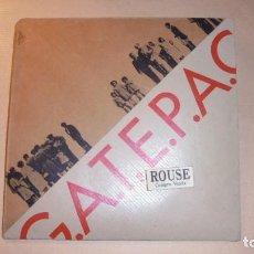 Arte: G.A.T.E.P.A.C. - CARTEL CATALOGO 1971 - EXP. COLEGIO DE ARQUITECTOS DE CATALUÑA Y BALEARES 50X50 CM.. Lote 111898219