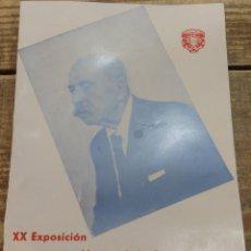 Arte: CARMONA, ANTIQUISIMO CATALOGO XX EXPOSICION NACIONAL DE BELLAS ARTES, 8 PAGINAS, MUY RARO. Lote 111914363