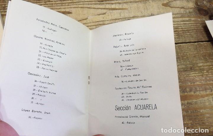 Arte: CARMONA, ANTIQUISIMO CATALOGO XX EXPOSICION NACIONAL DE BELLAS ARTES, 8 PAGINAS, MUY RARO - Foto 2 - 111914363