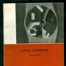 Arte: GRAU-GARRIGA. TEXTIL - MADRID. 1968. Lote 112013867