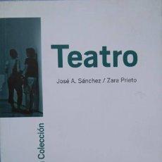 Arte: JOSÉ A. SÁNCHEZ Y ZARA PRIETO. TEATRO. ITINERARIOS POR LA COLECCIÓN MUSEO NACIONAL REINA SOFÍA. Lote 112041991