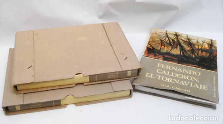 Arte: CATALOGO PINTOR PINTURA CUADROS FERNANDO CALDERON, EL TORNAVIAJE , RAUL CHAVARRI - Foto 4 - 112296103