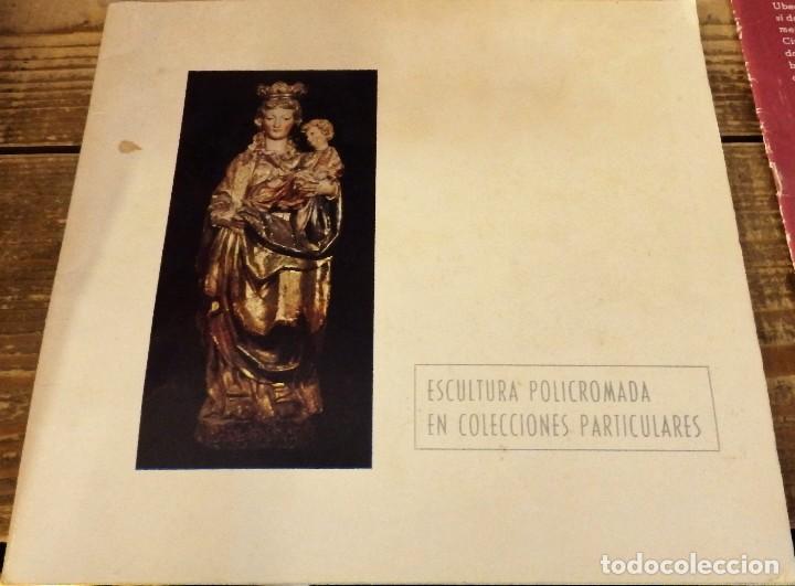 SEVILLA, 1976, CATALOGO EXPOSICION ESCULTURA POLICROMADA EN COLECCIONES PARTICULARES,30 PAGS (Arte - Catálogos)