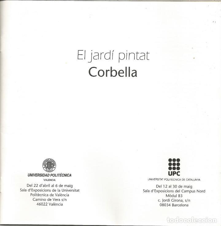 Arte: CATÀLEG EXPOSICIÓ VALENCIA I BARCELONA DEL PINTOR I PROFESSOR DOMÈNEC CORBELLA - 1997 - Foto 2 - 113027331