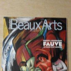 Arte: 1 REVISTA DEL ** MAGAZINE BEAUX ARTS ** - N1 º 186 - AÑO 1999 NOVIEMBRE - FAUVES . Lote 113269355