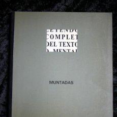 Arte: MUNTADAS - HIBRIDOS. Lote 113512119