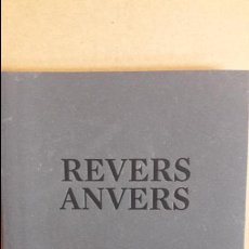 Arte: REVERS ANVERS / SERGI AGUILAR. EXPOSICIÓN MACBA -. Lote 114082623