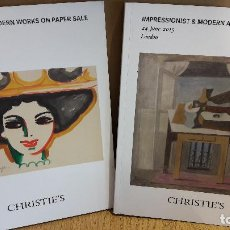 Arte: CHRISTIE'S !! IMPRESSIONIST & MODERN ART DAY SALE / 24 JUNE 2015 - LONDON. NUEVOS.. Lote 114152027