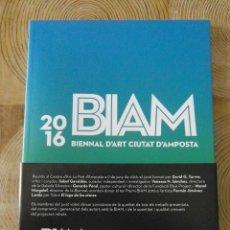 Arte: BIAM 2016. BIENNAL D'ART CIUTAT D'AMPOSTA. Lote 114395711