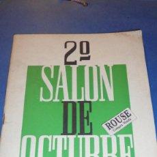 Arte: 2º SALON DE OCTUBRE BARCELONA 1949 GALERIAS LAYETANAS , ILUSTRADO 32 PAG. 22X16 CM. . Lote 114430331