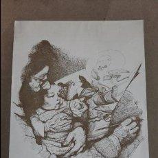 Arte: ALCORLO DUBUJOS. SALONES MACARRON MAYO 1971, MADRID. W. Lote 114874863