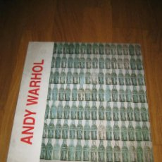 Arte: CATALOGO EXPOSICIÓN ANDY WARHOL. 1998.. Lote 114965463