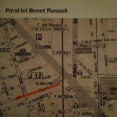 Arte: BENET ROSSELL. PARAL.LEL. MACBA. 2010. Lote 115349475