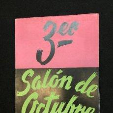 Arte: 3ER. SALÓN DE OCTUBRE. GALERÍAS LAYETANAS. BARCELONA, 1950. CASA MIGUEL - RIUS.. Lote 115709143