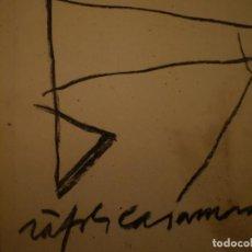 Arte: ALBERT RÀFOLS-CASAMADA. ÁLBUM DE TALLER. ED. GALERIA ÀMBIT. 1989. Lote 116723547